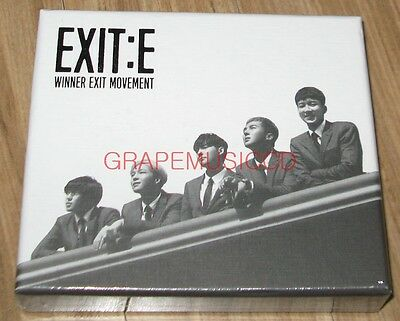 Winner – Exit : E Westminster W Ver. Cd + Polaroid + Film + Photocard Sealed