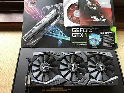 Nvidia GeForce GTX 1070 OC Asus ROG STRIX GAMING
