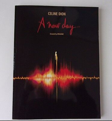 Celine Dion : A New Day Program - Dragone - Inserts attached - Caesar's Palace