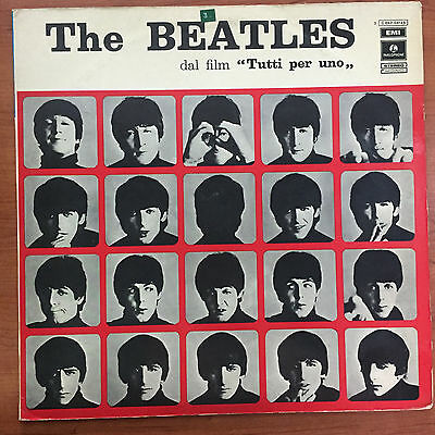 "The Beatles ‎– Tutti Per Uno (A Hard Day's Night) 12"" LP Vinile"