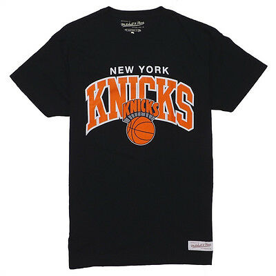 Mitchell and Ness Team Arch T-Shirt - New York Knicks - Free UK Shipping!