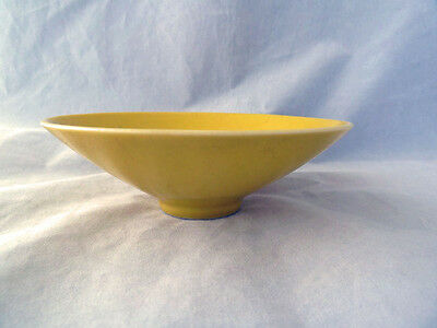Fine Chinese Flared Imperial Yellow Bowl - Signed.