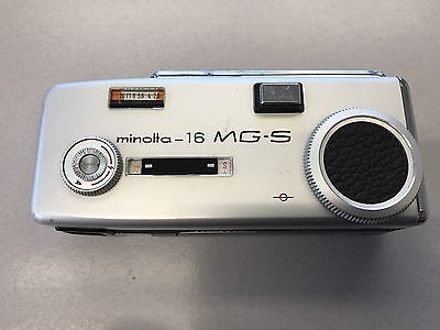 vintage Smallest Film Camera Minolta - 16 MG-S Spy James Bond 007