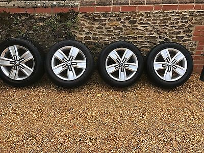 Vw T6 T5.1 Transporter Genuine 17 Inch Alloy Wheels And Tyres Highline Sportline