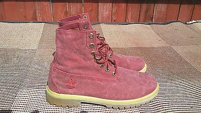 mens timberland suede boots size uk 9.5