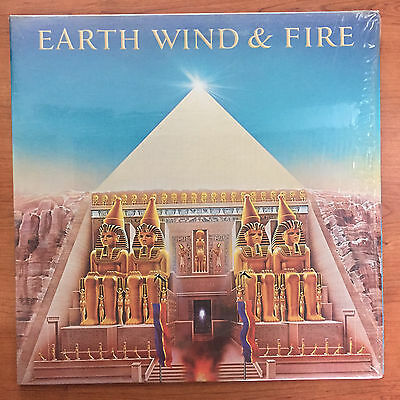 "Earth, Wind & Fire ‎– All 'N All 12"" LP Vinile"