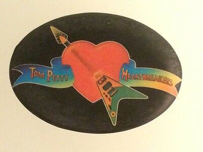 Vintage Tom Petty and The Heartbreakers Promotional Pin Button