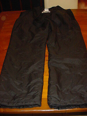 "Snow Ski Boarding Pants 2XL Mens Black ""SkitGear"" Brand"