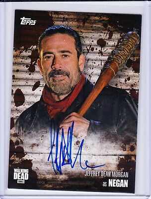 Walking Dead Season 6 Trading Cards Autograph Selection