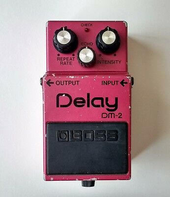 Boss DM-2 Delay - analogue, vintage 1984, made in Japan, MIJ * * * FREE P&P