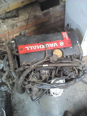 Vauxhall C20XE redtop 16V engine Manta RWD gearbox