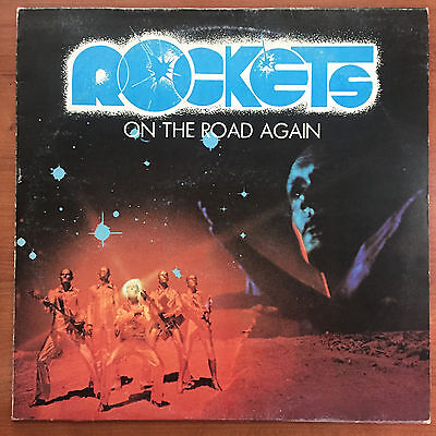"""Rockets – On The Road Again 12"""" LP Vinile electronic synth pop"""
