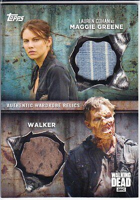 Walking Dead Season 6 Trading Cards Costume Relic Selection