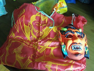 Vintage HALCO Devil Halloween Costume in Original Bag