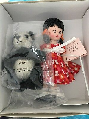 Love To Be Loved 8'' Madame Alexander Doll #40040  NEW Panda
