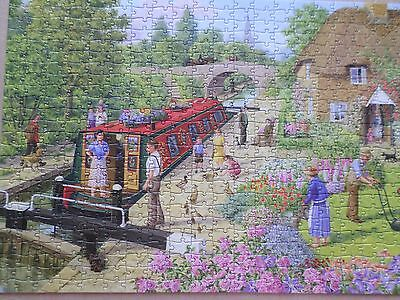 Lock Keepers Cottage 500 Piece Jigsaw. Life In The Country