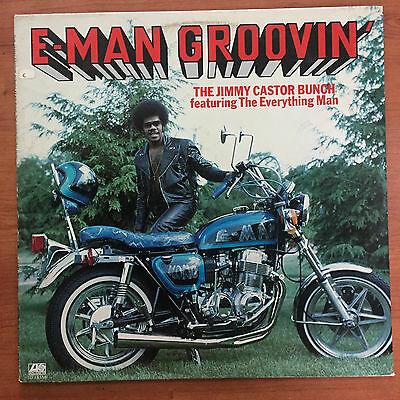 "The Jimmy Castor Bunch Feat. The Everything Man ‎– E-Man Groovin' 12"" LP Vinile"