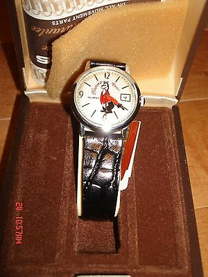 Vintage Hamm's Beer HAMM'S BEAR MOTION WATCH NOS FREE SHIPPING HELSBRO