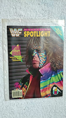 WWF 'Wrestling Spotlight Vol No.17' Magazine (MINT)