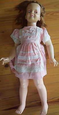 Vintage IDEAL TOY CORP Patti Playpal Original Life-Size Doll G-35 NEEDS WORK