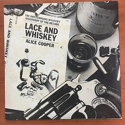"Alice Cooper ‎– Lace And Whiskey12"" LP Vinile"