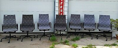 Eames Herman Miller Aluminum Group Chairs LOT OF 6