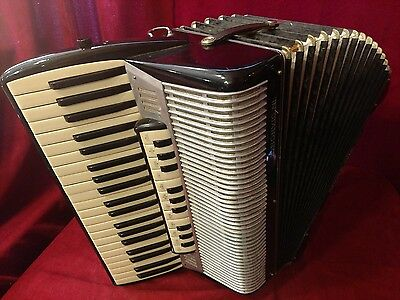 Vintage Tone Chamber Piano Accordion L Bonvicini LMMH 41/120 FOR PARTS OR REPAIR