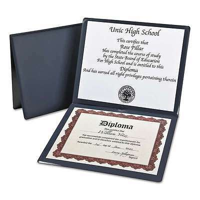 Oxford Diploma Cover, 12 1/2 x 10 1/2, Navy 089612442125
