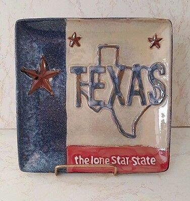 Texas - The Lone Star State Plate - New Without Tags - Laredo