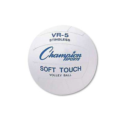 Champion Sports Rubber Sports Ball, For Volleyball, Official Size 710858010945
