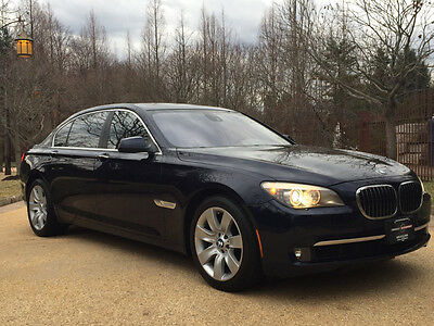 2010 BMW 7-Series Base Sedan 4-Door 32k low mile 760 free shipping warranty v12 luxury clean carfax 1 owner