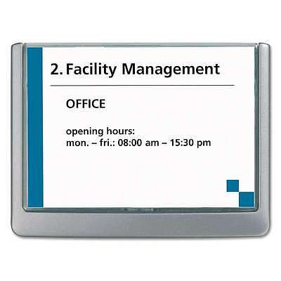Durable® Click Sign Holder For Interior Walls, 6 3/4 x 5/8 x 5 1/ 616528900809