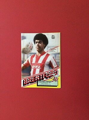 82/83 Brentford v Oxford U(league 3)