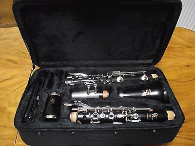 Super Boosey and Hawkes Wooden Edgware Bb Clarinet professionally refurbished