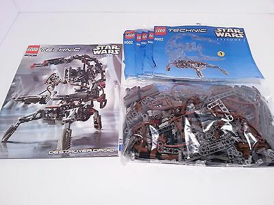LEGO Technic Star Wars Destroyer Droid (8002) for Parts - 85% Complete