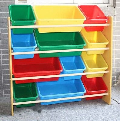 Large Capacity Colored 20mm Lengthen Storage Rack Shelf Toy For Children