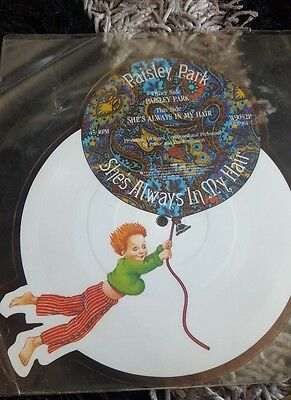 prince Paisley Park she's always in my hair shaped picture disc