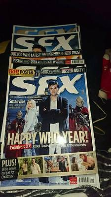 SFX 2006 Magazines Partly Subscribers Editions 13 in total
