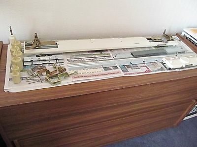 Brother KR-850 Ribber for knitting machines, includes accessories/instructions