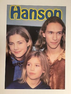 HANSON 1990's AUTHENTIC  POSTER