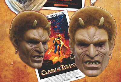 Clash Of The Titans 1981 Calibus Latex Halloween Mask  Ray Harryhausen 10CTT01