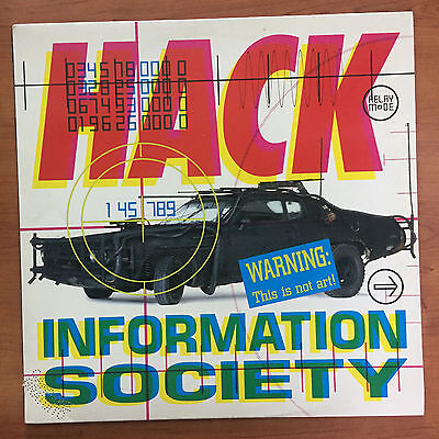 "Information Society ‎– Hack 12"" LP Vinile"