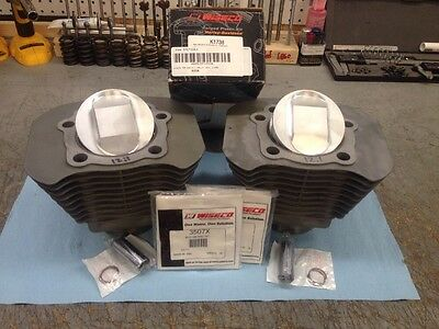 """12:1 BUELL XB .010"""" Over Wiseco Pistons: K1738 (04-up Sportster 1200 Screamin)"""