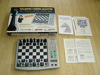 Kypton Systema Talking Chess Master Electronic Computer Game - Boxed + Complete