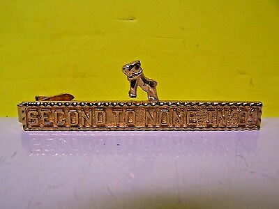 """Vintage 1981 Tie Clasp Mack Trucks Salesman Issue """" Second To None In """"81"""""""