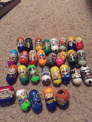 Mighty Beans lot of 29 great variety Mighty Beanz