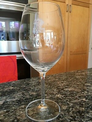 Silver Oak Cellars Stemmed Schott Zwiesel Wine Glass Geyserville CA Winery