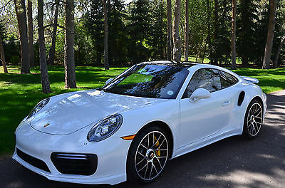 2017 Porsche 911 Turbo S Coupe Delivery Miles Only-Heavily Optioned with all the Right Equipment-Hard to Find!!