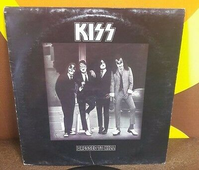 Kiss  Dressed To Kill Lp 1975 Ita