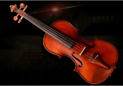High-end Handmade Wood Beginners Preferred Work Musical Instrument Violin #